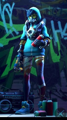 Game Character Design, Character Design Animation, 3d Character, Tracer Cosplay, Overwatch Tracer, Overwatch Comic, Overwatch Wallpapers, Subway Surfers, Cyberpunk Art