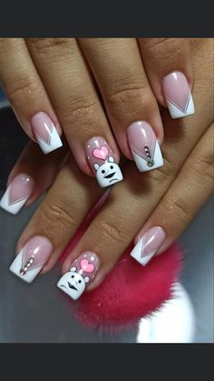 Gorgeous Nails, Manicure And Pedicure, Acrylic Nails, Nail Designs, Nail Art, Tattoos, Beauty, Elegant Nails, Work Nails