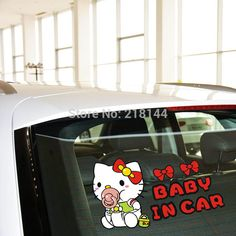 Find More Stickers Information about Drop Shipping High Quality 2pcs/lot 14*9cm Baby in Car Sitckers and Decals Funny Cool Styling Reflective Car Wall Sticker,High Quality Stickers from Sunshine&Smart Car Accessories Company on Aliexpress.com