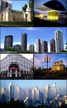Castelo do Batel, Museu Oscar Niemeyer, centro, Palácio Avenida, Jardim Botânico, cidade ao amanhecer