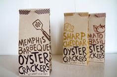 Oyster Crackers #packaging
