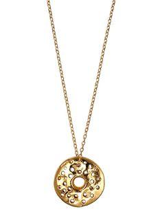 #Ettika #boho  - Ettika Holed in Disc Chain Necklace
