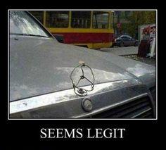 genuine Mercedes spare part?