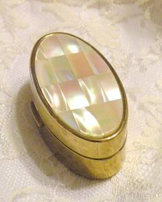Vintage Max Factor Lipstick Compact Mother by RosePetalResources, $30.00