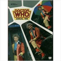 The Dr Doctor Who Annual 1986 Colin Baker Rare Hardback Book 9780517605615 on eBid United Kingdom