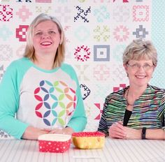 Learn how to make a Petit Four Basket with Annie Unrein! | Fat Quarter Shop's Jolly Jabber | Bloglovin'