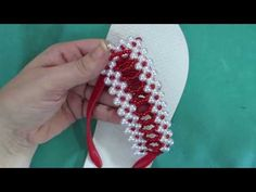 YouTube Fun Crafts, Projects To Try, Beads, Bracelets, Youtube, Diy, Shoes, Jewelry, Flip Flop Craft