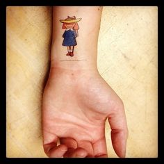 literary tattoo - Madeline  = )