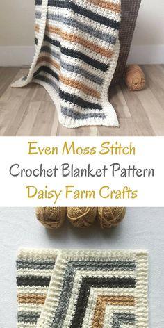 crochet blanket patterns #Easycrochetblankets
