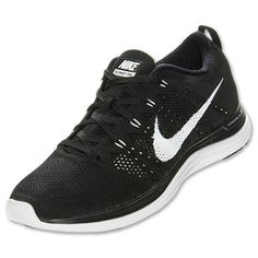 ff34df7052f1 Mens Nike Flyknit Lunar 1 Black White 554887 011