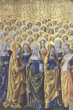 "discardingimages: "" holy girls club Hours of Louis de Laval, France ca. 1480 BnF, Latin 920, fol. 182r """