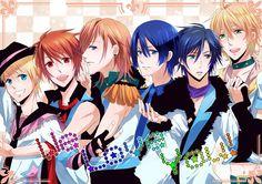 uta no prince sama | Uta no Prince-sama is a Japanese video game of 2010 for female users ...
