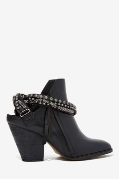 Dolce Vita Hollice Leather Bootie - Shoes | Heels | Shoes | All | Moto Boots | All