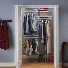 ShelfTrack Adjustable Closet Organizer Kit