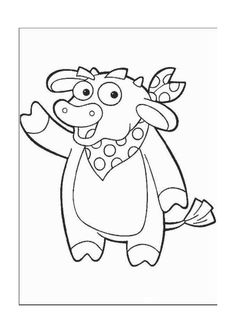 Dora the Explorer Coloring Pages 2