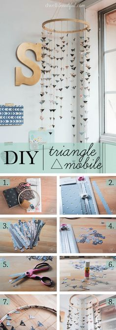 Your daily dose of Inspiration: 35 Best Weekend DIY Home Decor Projects (Ideas and Designs) – DIY Project Detail… Diy Home Decor Projects, Cool Diy Projects, Home Improvement Projects, Diy Design, Diy Simple, Easy Diy, Weekend Crafts, Contemporary Home Decor, Home Decor Inspiration