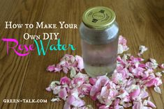 Love the smell of roses? Consider making your own DIY rose water for personal care and culinary uses.