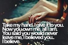 Some of my fav flyleaf lyrics. And I love the way she sings this part of the song, full of emotion