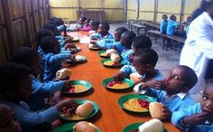 Primary school pupils in Anambra State were filled with joy as they were served delicious 'okpa' to kick off Buhari's feedin...