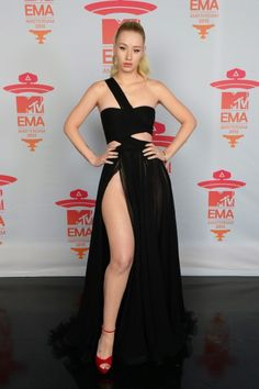 MTV EMA Awards 2013: Red Carpet Arrivals Iggy Azalea