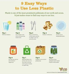 Conservation tips: use less plastic