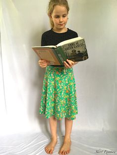Thread Faction sewn by Skirt Fixation. Best thing about this skirt are the shorts underneath! Girl Skirts, Giveaway, Free Pattern, Shorts, Sewing, Fun, Blog, Dressmaking, Couture