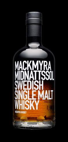 Mackmyra Midnattsol by Stockholm Design Lab