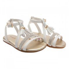 Sandalia Pampili Linda Branco Cute Girl Shoes, Toddler Girl Shoes, Girls Shoes, Crib Shoes, Baby Shoes, Huarache, Victoria Shoes, Girls Sandals, Reborn Babies
