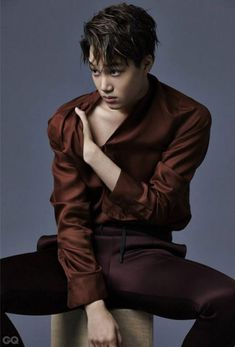 Kai for GQ Korea                                                                                                                                                                                 Plus
