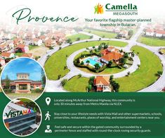 A township complete with all your lifestyle needs, Camella Provence proves its value by putting you close to your favorites. See how you can come home to this healthy and relaxing neighborhood just beyond the metro.  #CamellaMegaSouth #CamellaProvence #FourDecadeFavorite Welcome Home, Place Of Worship, Manila, Provence, The Neighbourhood, Posts, How To Plan, Lifestyle, Healthy