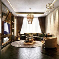 Art Deco Living Room, Living Room Designs, Black Furniture, Luxury Furniture, Luxury Life, Luxury Living, Banisters, Armchair, Contemporary