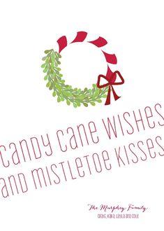 Cute little Christmas Card saying
