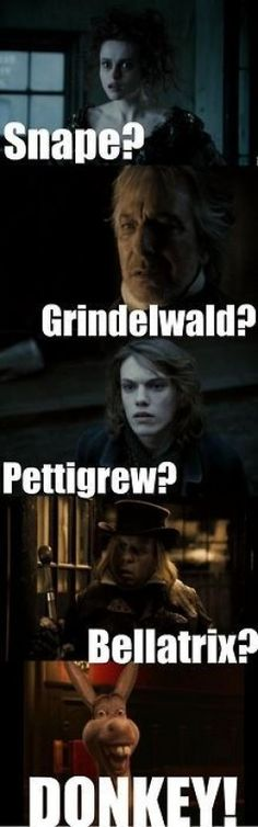 HARRY POTTER meets LOLCATZ << SWEENEY TODD!!!!! Literally everyone in Tim Burton's Sweeney Todd was either in Harry Potter, Alice in Wonderland, Les Mis or Twilight. Then there's Johanna who was the outsider XD