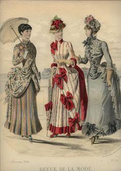 May 25,1884 Revue De La Mode