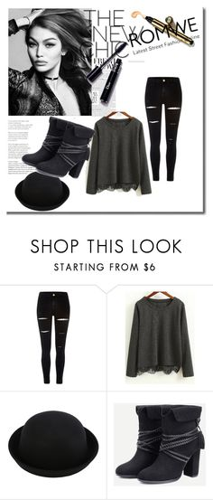 """""""Romwe 49"""" by zerina913 ❤ liked on Polyvore featuring River Island, vintage and romwe"""