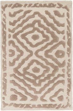 Surya ATS1006 Atlas Brown Rectangle Area Rug