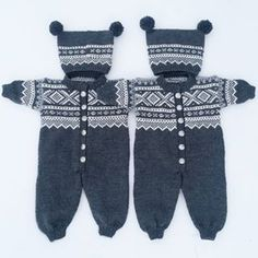 Strikk til baby og barn 💞 ( Photo And Video, Knitting, Winter, Baby, Fashion, Winter Time, Moda, Tricot, Fashion Styles