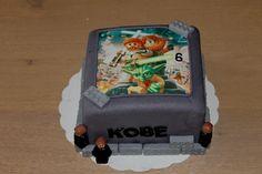 Lego Star Wars taart