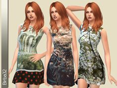 The Sims Resource: Floral Mix by Birba32 | Sims 4 Downloads | Scoop.it