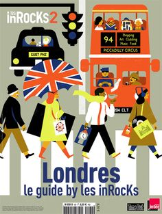 virginie-morgand:  Cover Illustration for Les Inrocks Magazine -...