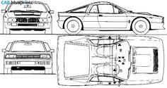 43 best car blueprint images on pinterest cars posters and 1982 lancia 037 rally coupe blueprint malvernweather Images