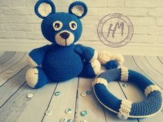 Your place to buy and sell all things handmade Crochet Teddy, Bear Cubs, Forest Animals, Crochet Gifts, Stuffed Animals, Gifts For Kids, Sailor, Teddy Bear, Toy