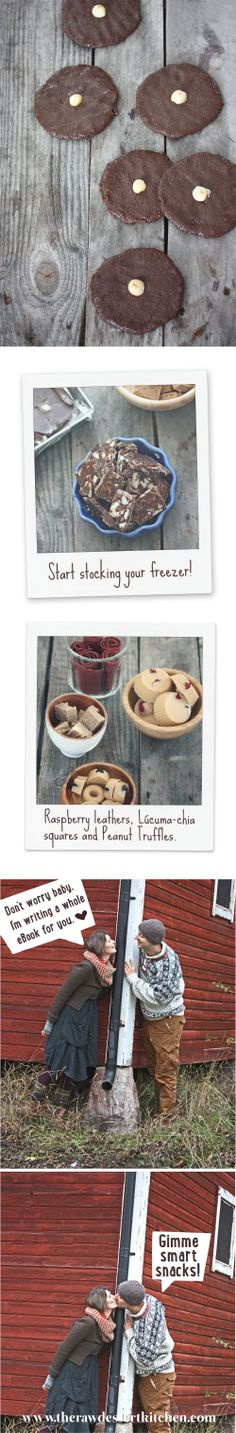 Karolina Eleonóras ebook; Snack Smarter is available for purchase now.   http://therawdessertkitchen.com/