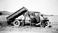Horsham District, Victoria, circa 1930 Horsham, Photo Journal, Transportation, Victoria, Trucks, Black And White, Photo Diary, Black N White, Black White