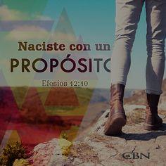 Descubres tu propósito, cuando comprendes Su Voluntad, que es: Buena, Agradable y Perfecta. #Propósito