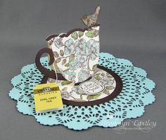 addINKtive designs: Tea Cup Easel Card Tutorial