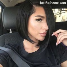 Asymmetrical Bob Haircuts You Should Try #BobHaircuts