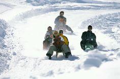 White Snow Winter Fun with the family.