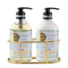 Rain Liquid Hand Soap & Lotion Set