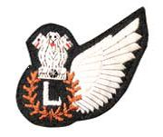 Aircrew badges commonly known as WINGS are worn by theIndian air force's officers and airmen crew on their uniforms is the symbol of qualification badge Indian Air Force, S Monogram, Badge, Wings, Symbols, Feathers, Feather, Badges, Ali